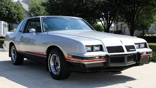 1986 Pontiac Grand Prix 2+2 Aerocoupe For Sale