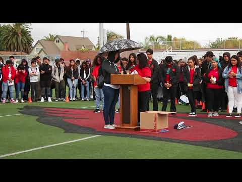 Parkland Memorial Ceremony at Hoover High School