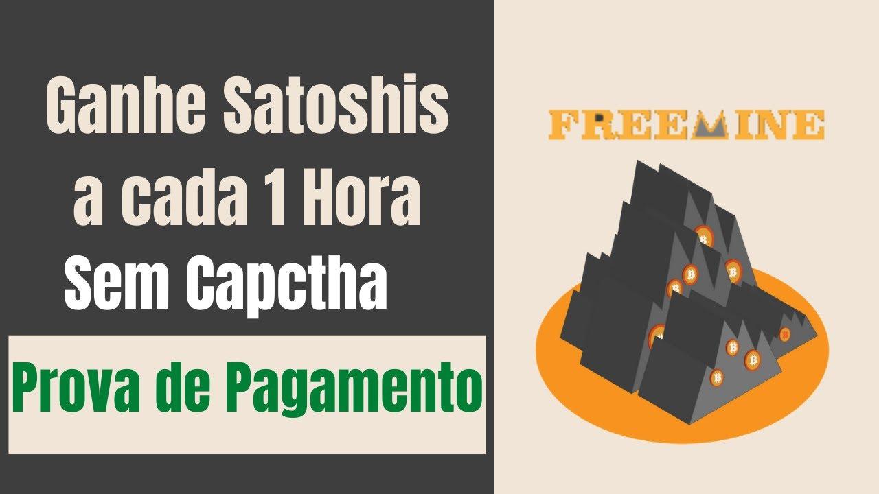 Freemine Ganhe Bitcoin a cada 1 Hora Sem Captcha - (PROVA DE PAGAMENTO!)