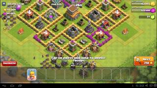 Clash of Clans Town Hall 5 Attack Strategy - TH5 Farming Guide