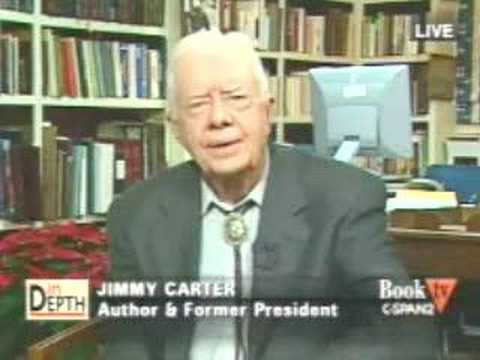 President Carter talks about AIPAC and Israel on C-SPAN