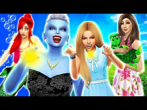 ALICE IN WONDERLAND IS TAKEN FROM RAPUNZEL! 😈URSULA😈 | The Sims 4 Disney Villains Challenge #18!