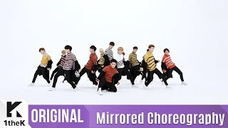 [Mirrored] SEVENTEEN(세븐틴)_BOOMBOOM Choreography(붐붐) 거울모드 안무영상)_1theK Dance Cover Contest