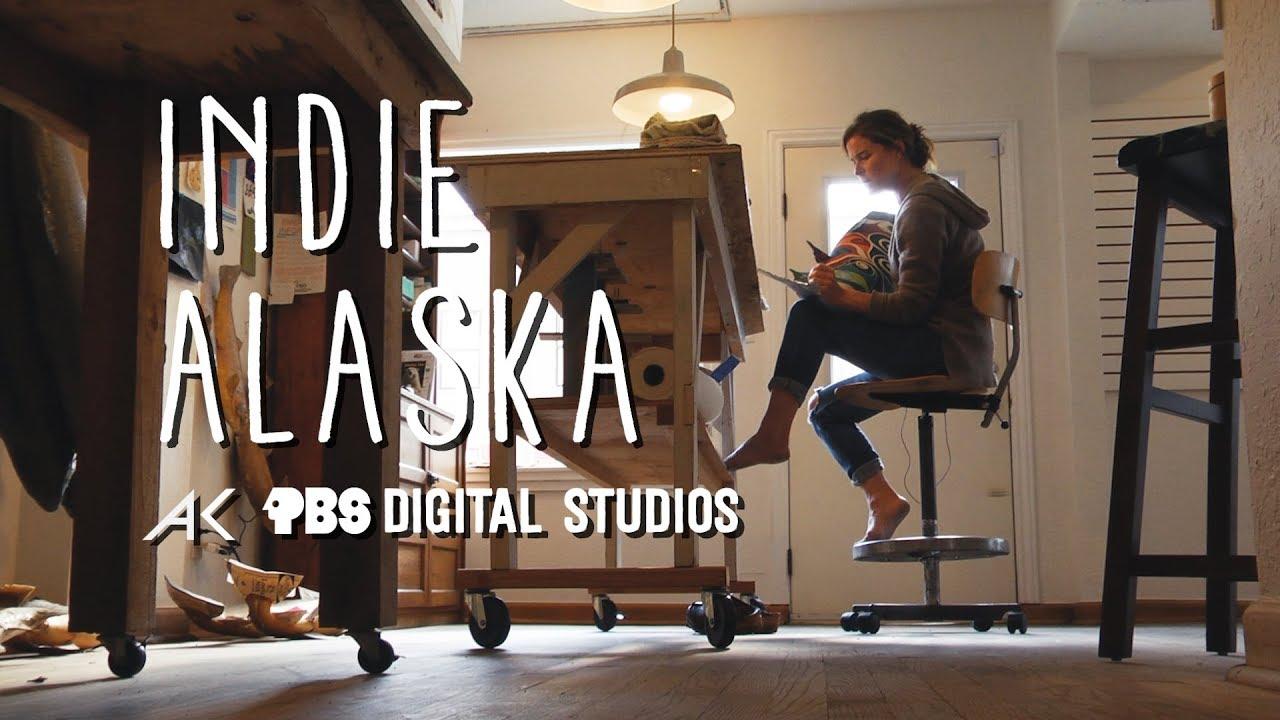 I am a Salmon Painter | INDIE ALASKA