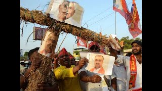 Bihar encephalitis deaths Protesters demonstrate at Health Minister& 39 s residence