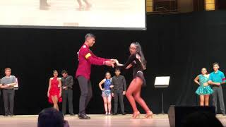 19th Annual MCPS Latin Dance Competiton- Bachata Division (30 Second Shine)- Gaithersburg 3rd place
