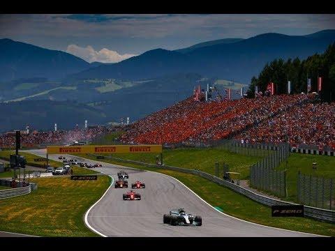 F1 Autriche 2017 avec toto Toto Africa