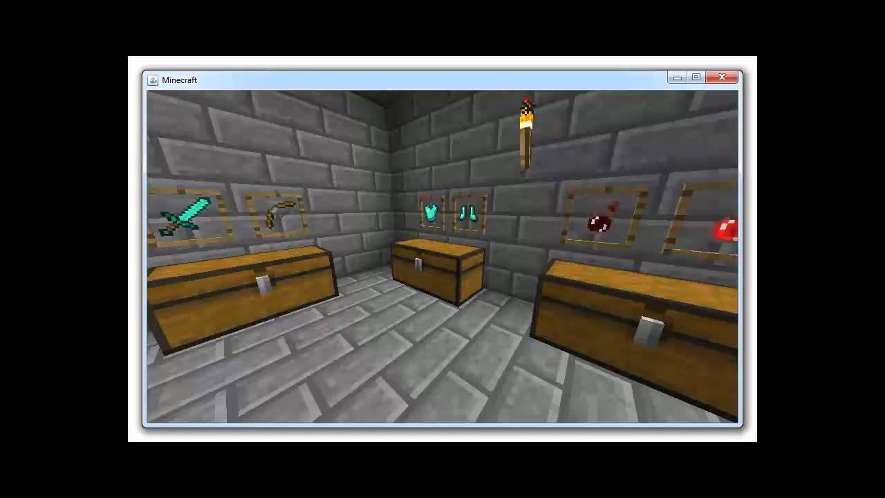 Minecraft 1.4 - Blumentöpfe, Bilderrahmen, Unsichtbarkeitspotion und ...