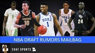 NBA Draft: Trade Rumors, Tacko Fall Projection, R.J. Barrett Comparison, Bol Bol u0026 Cavs | Mailbag