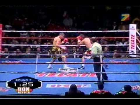 """Giovani """"Guerrero Azteca"""" Segura Vs Manuel """"El Chango"""" Vargas Round 7"""