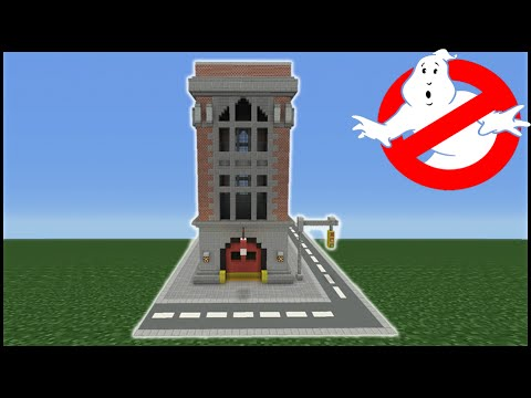 Minecraft Tutorial: How To Make The Ghost Busters Headquarters