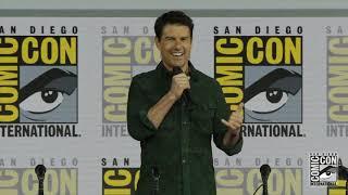 Top Gun Maverick Surprise #TomCruise at Comic-Con