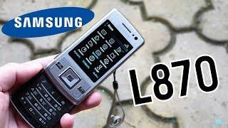 Samsung L870: красота по-корейски (2008) – ретроспектива