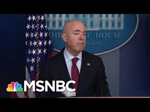 Secy. Mayorkas: Reuniting Migrant Families Is A 'Moral Imperative'   MSNBC