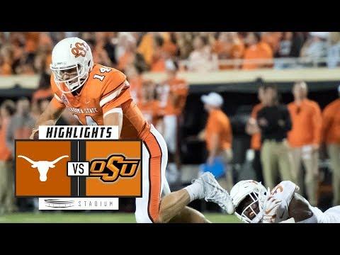 No. 6 Texas vs. Oklahoma State Football Highlights (2018) | Stadium