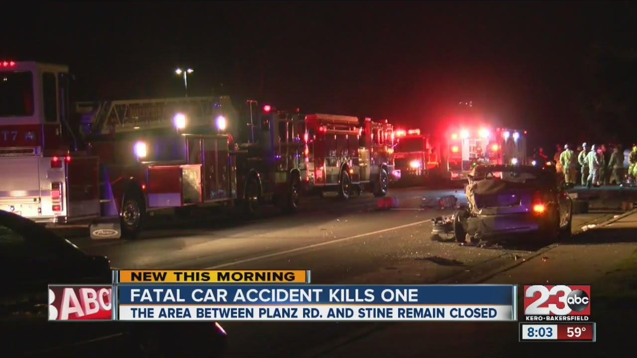 Bakersfield News Car Accident