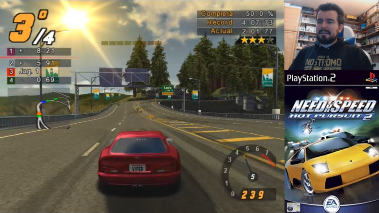 Need For Speed Hot Pursuit 2 Playstation 2 Gameplay En