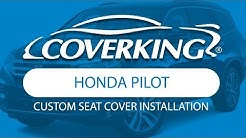 How to Install 2017-2018 Honda Pilot Custom Seat Covers | COVERKING®