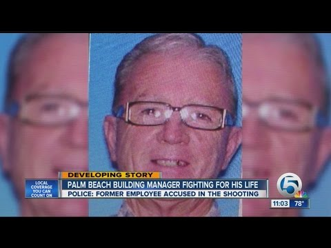 Palm Beach building manager fighting for his life