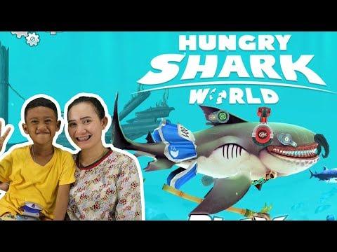 น้องโปรแกรม รีวิวเกมส์ Hungry Shark World | ฉลามโหดผู้หิวโหย