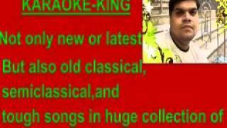 karaoke chahunga main tujhe saanjh savere-rafi.flv