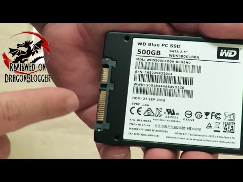 Unboxing And Overview Of The Wd Blue 500gb Ssd 6gb 2 5 Inch