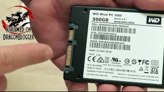 Unboxing and overview of the WD Blue 500GB SSD 6Gb 2.5 Inch WDS500G1B0A #WDBlueSSD