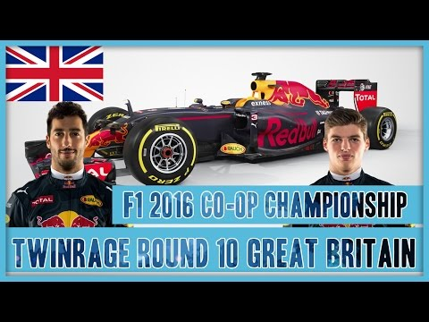 TwinRaGe Youtube Co-op Championship F1 2016 - Round 10 Great Britain
