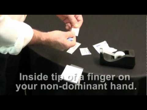 How to correct a blood spot sample