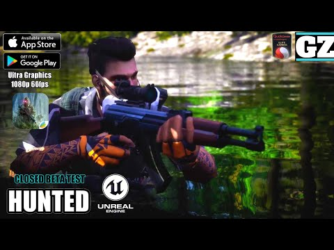 HUNTED - BETA Gameplay - Unreal Engine 4 - Android/iOS