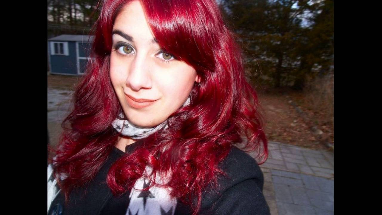 Best Red Hair Dye For Dark Hair Youtube