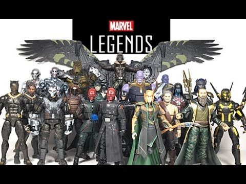 Marvel Legends Ranking: Worst to Best Hasbro MCU Villains 2012-2018 (20  Figures)