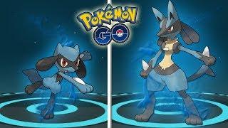 La MEJOR EVOLUCIÓN de RIOLU a LUCARIO en Pokémon GO [Keibron]