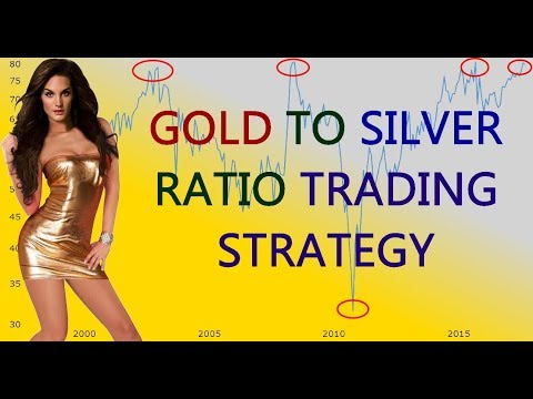 Gold to Silver Ratio Trading Strategy // commodities investing 2018 2019 2020