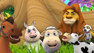piosenki dźwiękowe zwierząt | Polskie Piosenki Dla Dzieci | Filmy Dla Dzieci | Animal Sound Songs