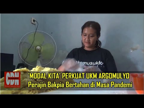 'MODAL KITA' PERKUAT UKM ARGOMULYO