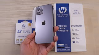 BEST iPhone 12 Pro Screen Protector - Whitestone Dome Tempered Glass!