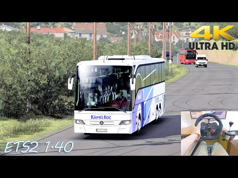 Turkey   Realistic Driving Mercedes Benz Tourismo 17 RHD   ETS2 1.40   4K  
