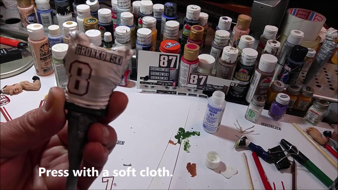 Make your own Mcfarlane custom figures using waterslide decals