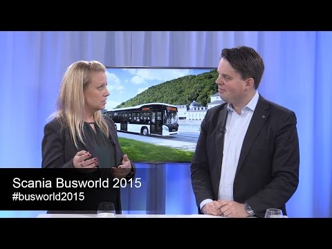 Scania Studio: Scania reveals interesting news at Bus World