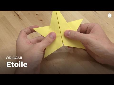 Faire une étoile en papier | Origami
