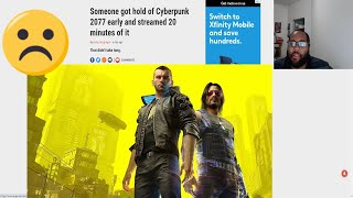 cyberpunk 2077 game has been leaked online this sucks for fans and the devs