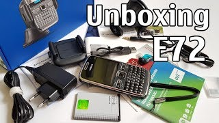 Видео Nokia E72 Unboxing 4K with all original accessories RM-530 review (автор: Nokia Phones Collection)