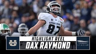 Dax Raymond Utah State Football Highlights - 2018 Season | Stadium