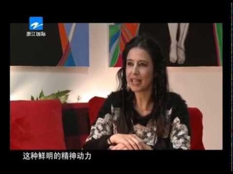 Interview Sophie Tedeschi - Zhejiang TV - 2014