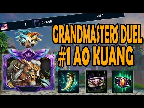 #1 AO KUANG IN DUEL IN-DEPTH GAMEPLAY + COMMENTARY- Smite