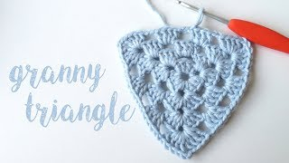 Today I show you how to crochet a granny triangle! and explain what to do if you're designing a granny triangle with different yarn weights. For more stitch ...