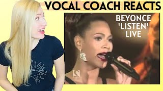 Vocal Coach Reacts: BEYONCE 'Listen' Live on Oprah
