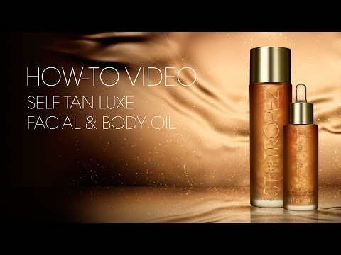How to apply Self Tan LUXE DRY OIL + Before/After Tips & Advice by St.Tropez