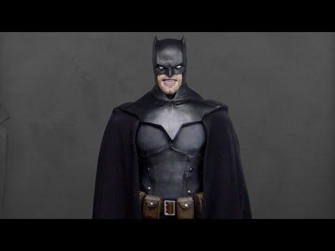 Possible Batsuit and Batmobile Design Details Emerge from Batman Vs. Superman!